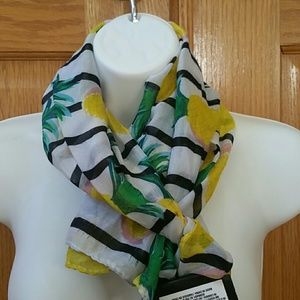FREE WITH $15 PURCHASE: spring pineapple scarf